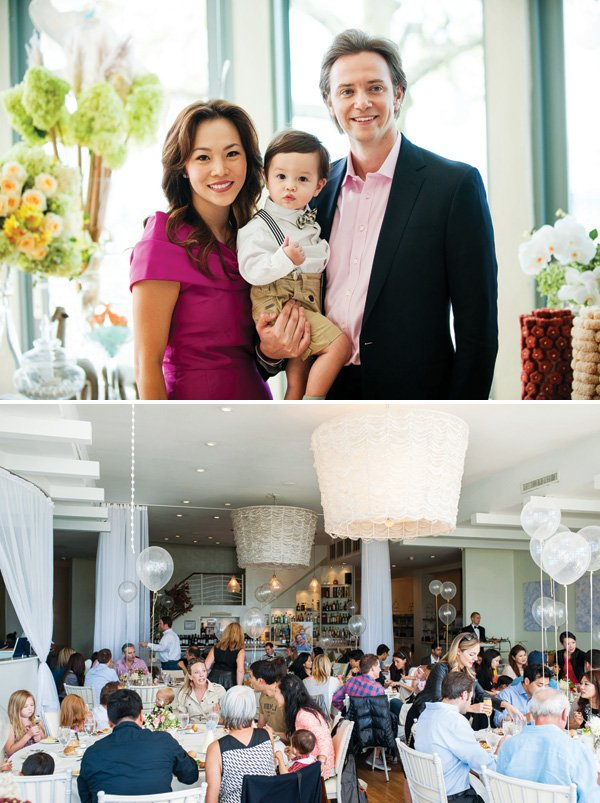 formal family dining room birthday party