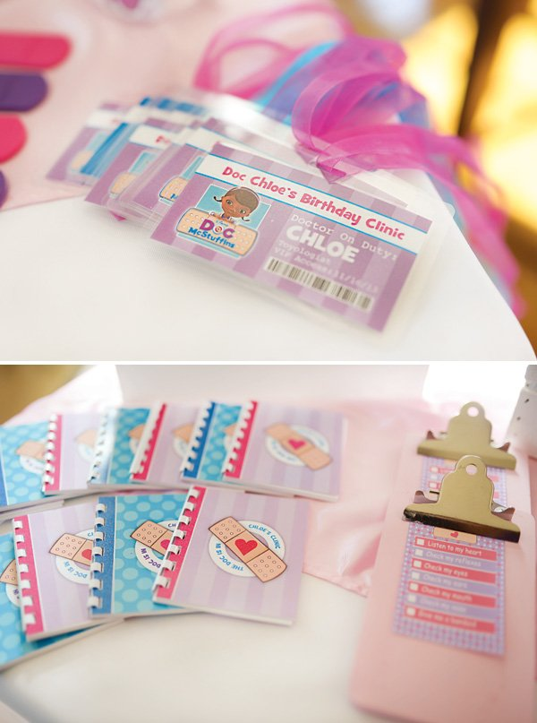 kids personalized doctor tools