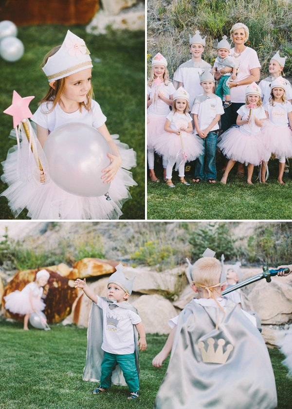 kids knight and princess costumes