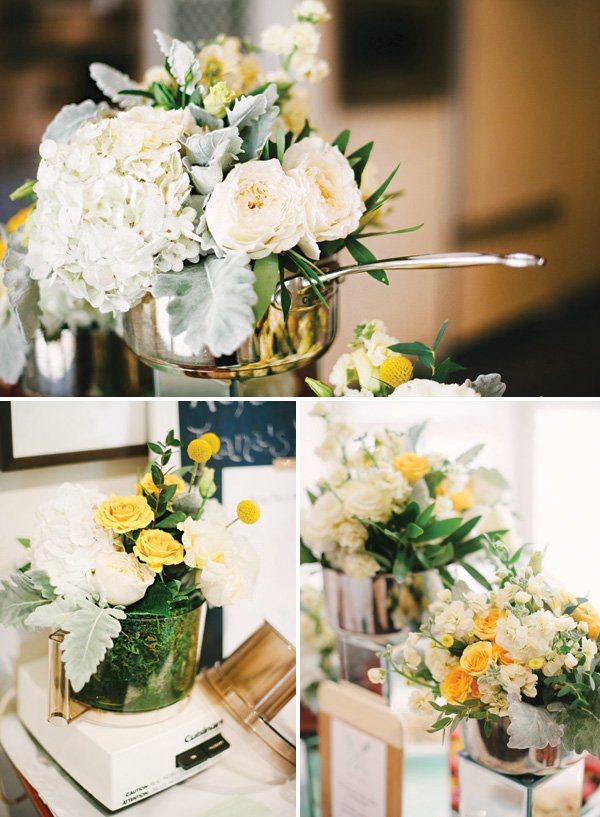 small kitchen appliance flower bouquets