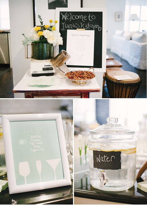 kitchen themed bridal shower