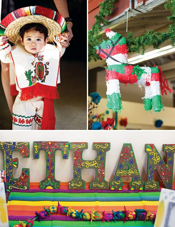 mexican first birthday baby costume