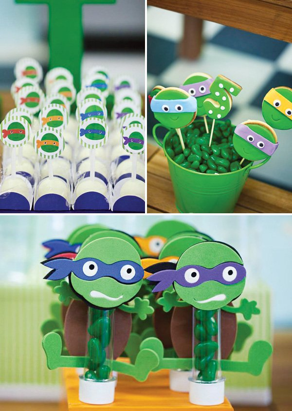 Personalized Ninja Turtle Birthday Invitations for great invitation layout