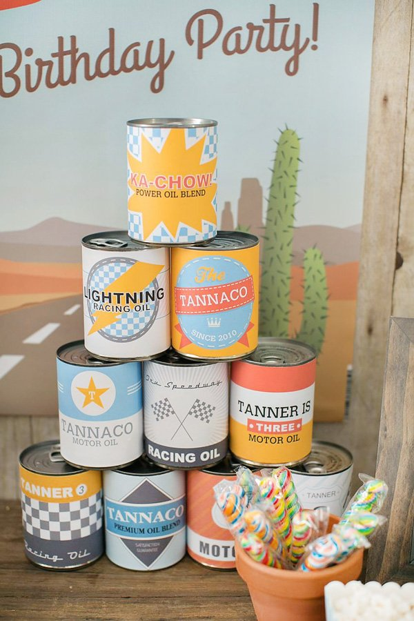 DIY oil cans