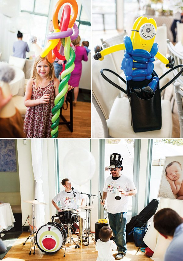 amazing balloon animals and band party entertainment