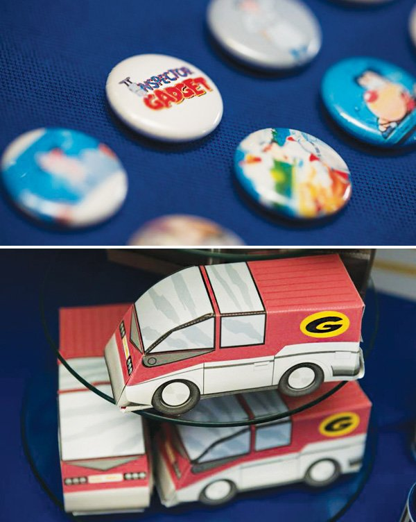 gadget mobile party favor boxes