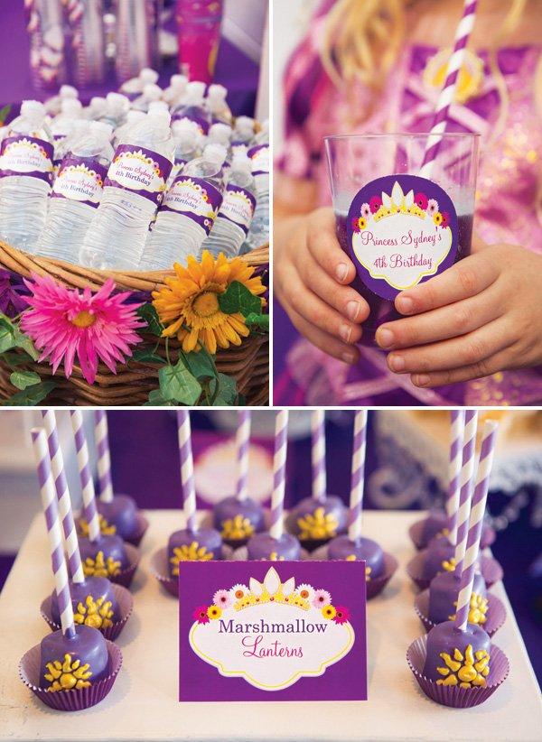 purple princess printables