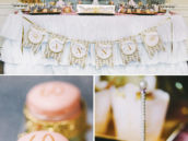royal crown and castle dessert table