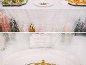 royal party food table