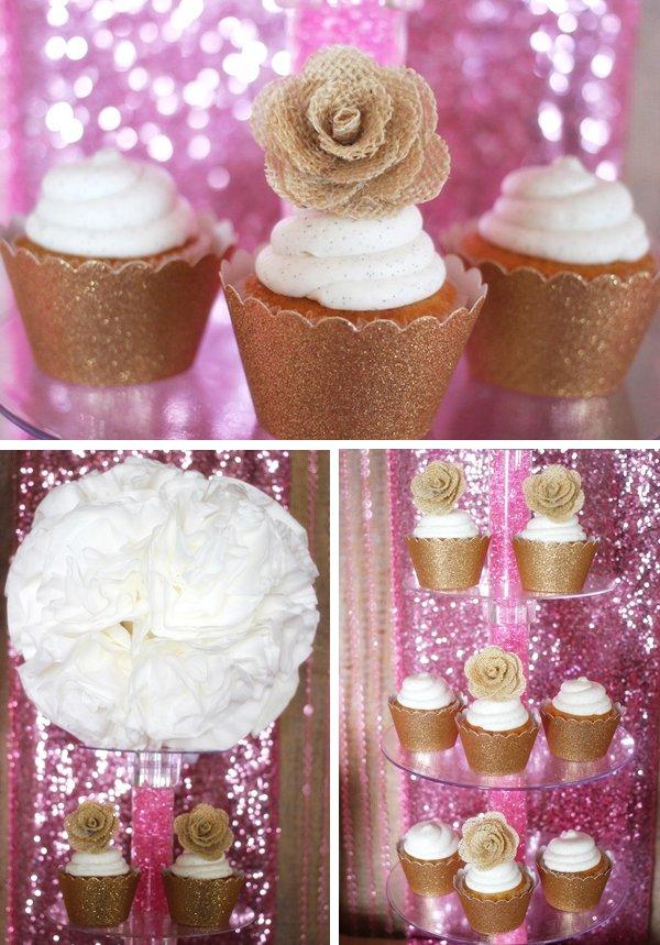 rustic-glam-cupcakes-gold-metallic