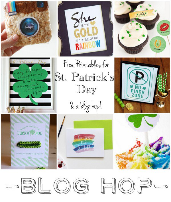 St. Patrick's Day - Free Printables Blog Hop