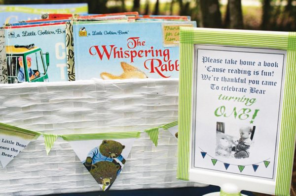 storybook party favors