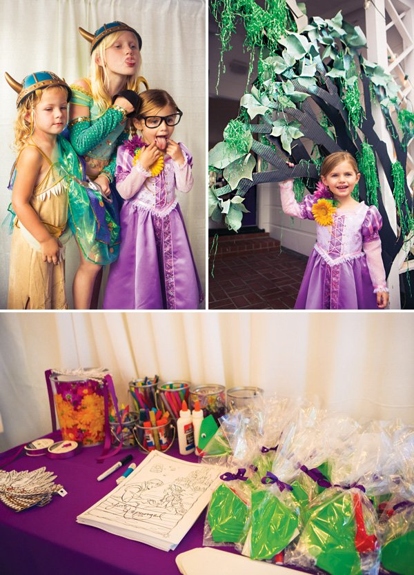 tangled birthday party activities and costumes