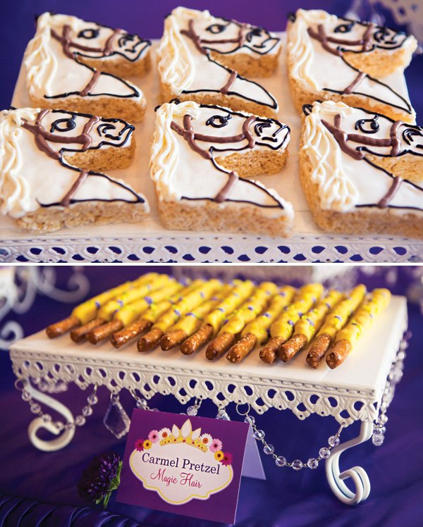 tangled party desserts