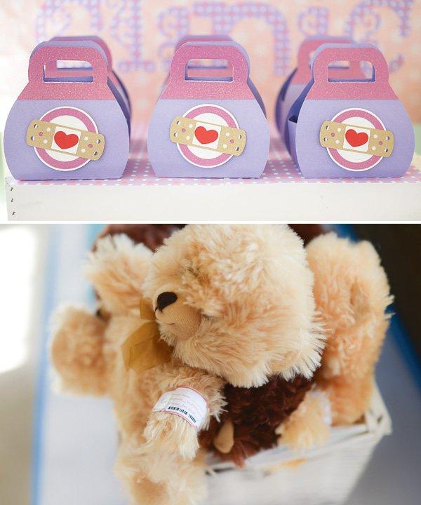 teddy bear toy patient