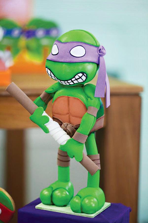 teenage mutant ninja turtle party decor
