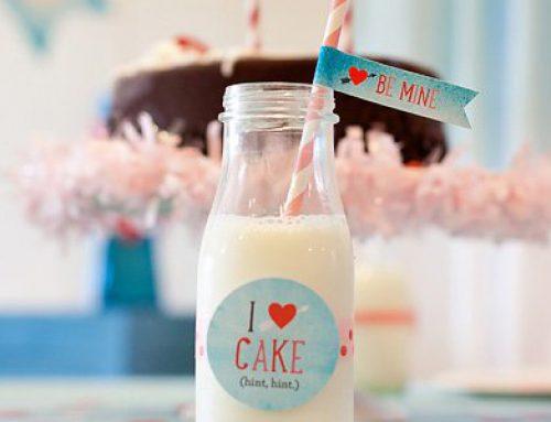 Cake & Ice Cream Valentine's Day Party + Free Printables