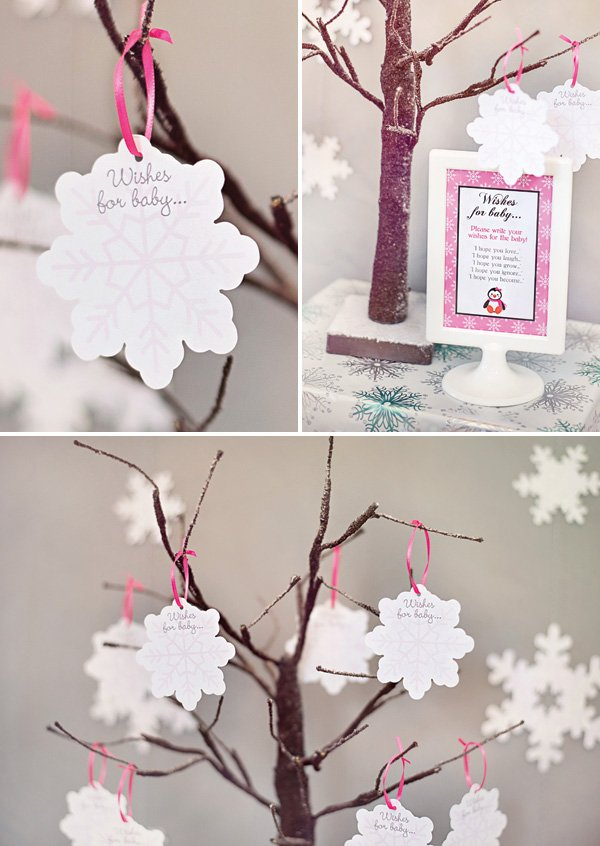 wishes for baby snowflake tree