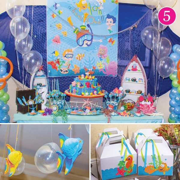 bubble guppies themed birthday party