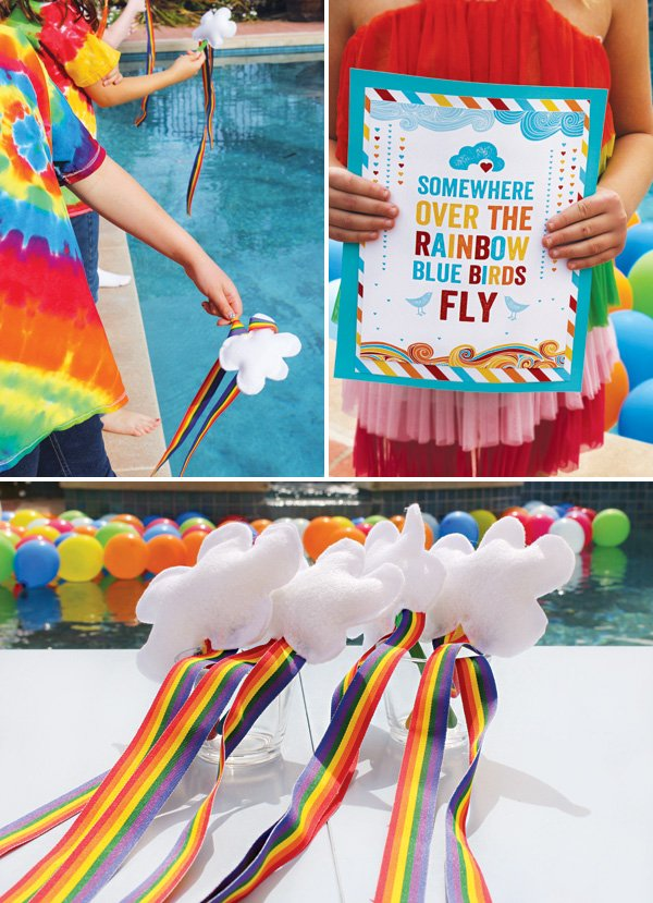 Adorable St. Patrick's Day Rainbow Party