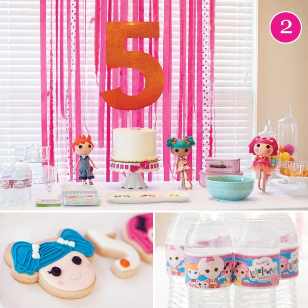 lalaloopsy dolls themed birthday party