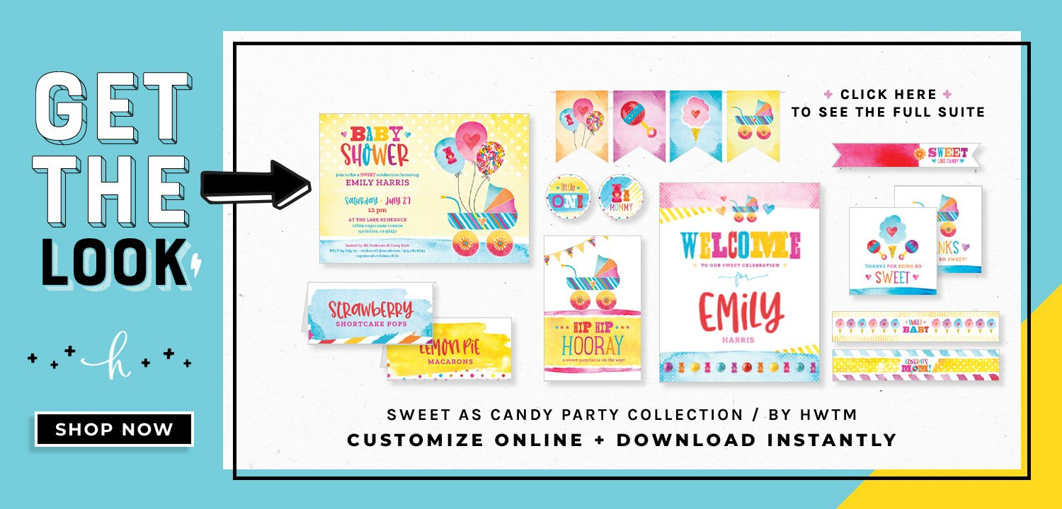 Sweet as Candy Printables