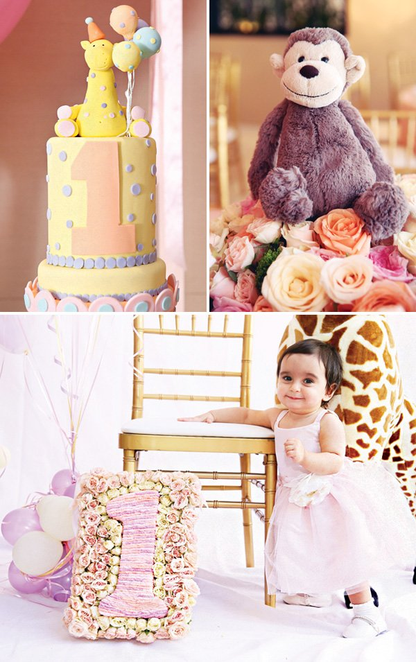 baby animal first birthday theme ideas