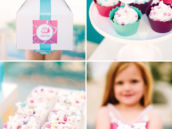 barbie party snacks and dessert printables