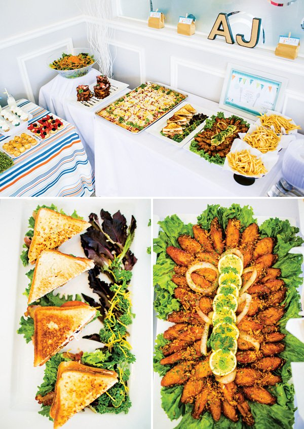 birthday party kids finger food