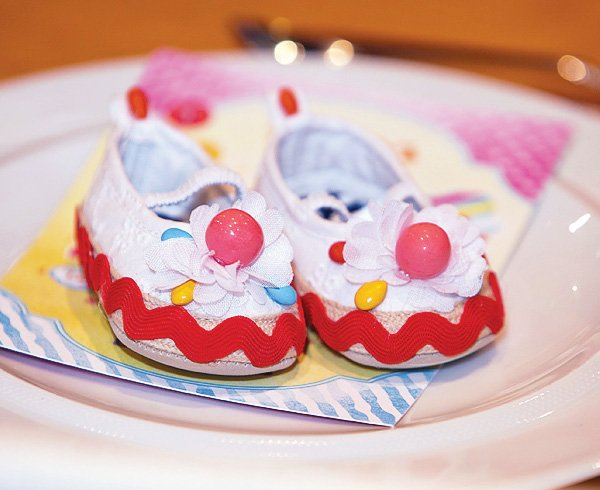 candy baby shoes