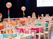 Candy Baby Shower - Table Linens by Wildflower Linen