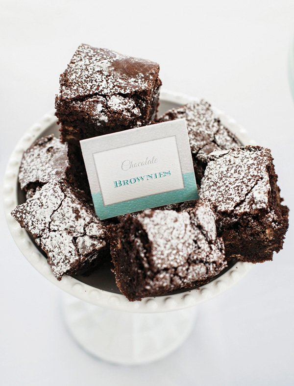 chocolate brownies for a party