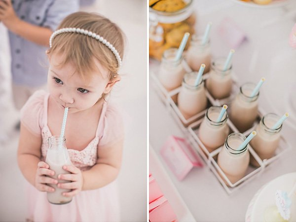 chocolate milk bottles