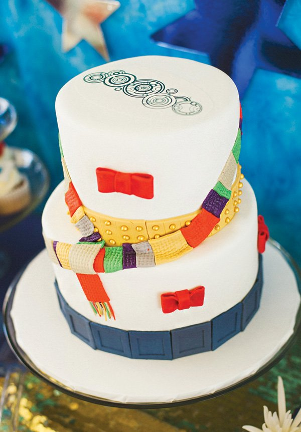 doctor who themed cake