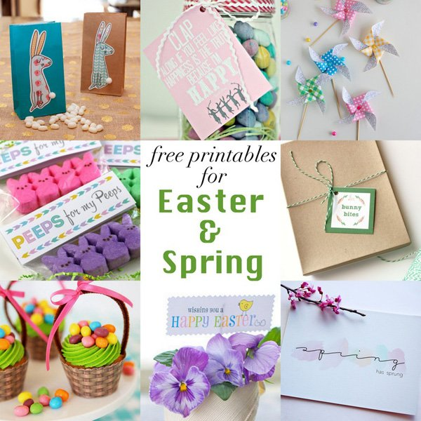 8 Free Easter Printables for Spring