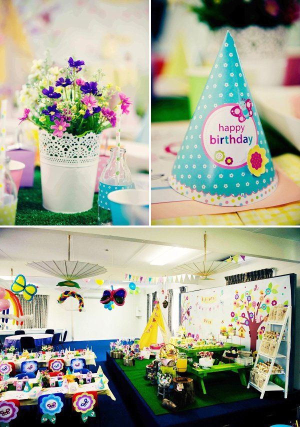 garden birthday party theme ideas
