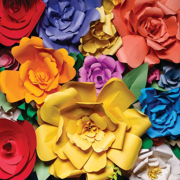 DIY Giant Paper Flowers Tutorial // Hostess with the Mostess®