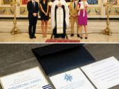 greek orthodox christening ceremony and invitation