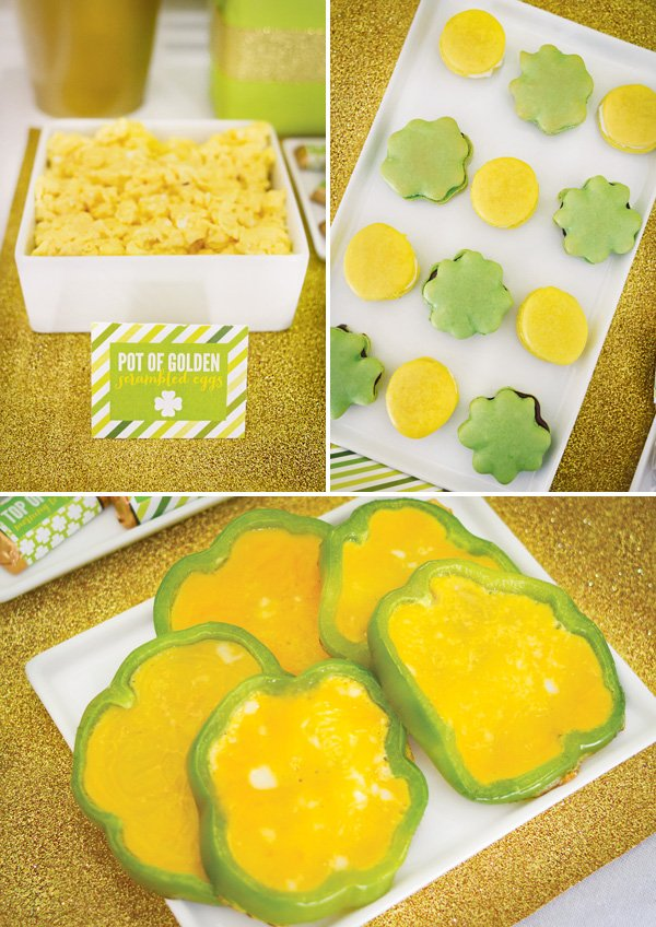 leprechaun inspired st. patrick's day food
