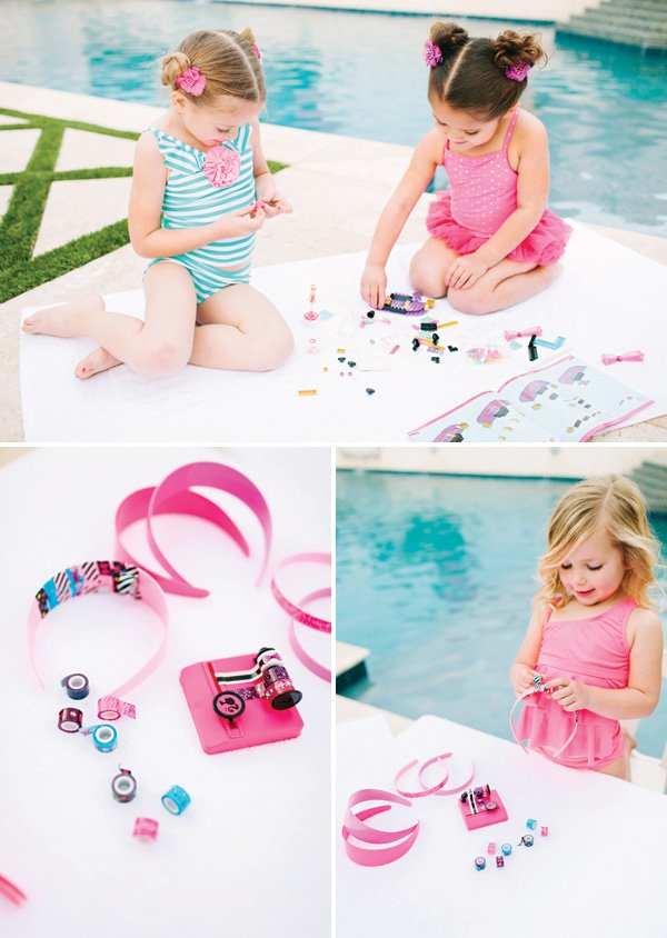 little girl party activities and games