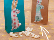 Free Easter Printables from HWTM - Bunny Treat Bags