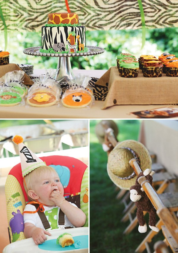 safari first birthday party ideas