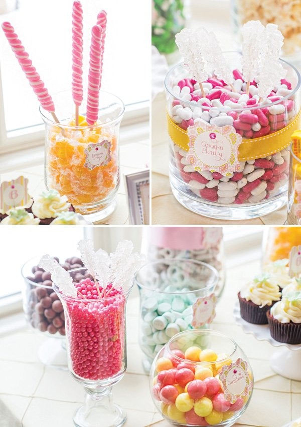 candy display table