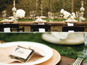 winter wedding tablescape decor