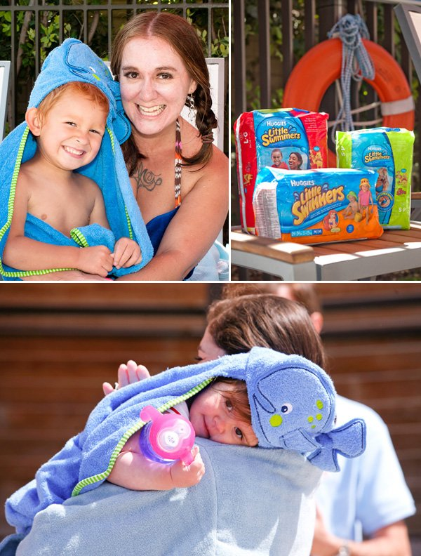 Whale Towels for Kids