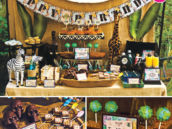 disney jungle cruise themed birthday party