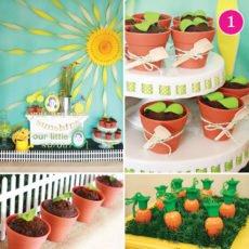 sunshine & sprout garden birthday party