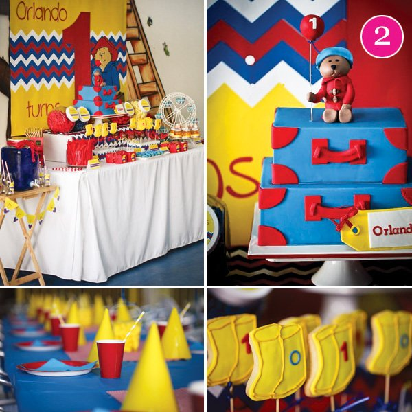 paddington bear birthday party
