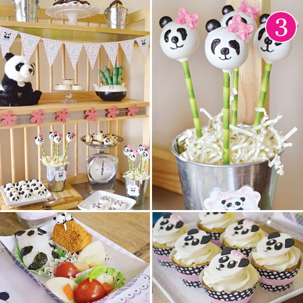 panda bear birthday party