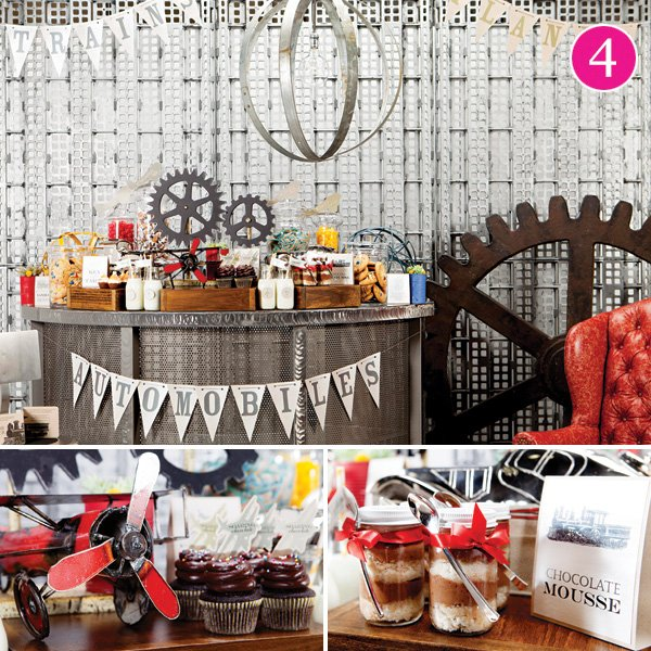 planes trains and automobiles travel birthday party